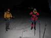 6.00 AM leaving hut Klein Matterhorn 3817m