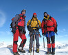summit Castor 4226m, Marijn, Frank and Rogier