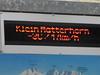Klein Matterhorn 3817m  Temp. -3C  Wind 17 km/h