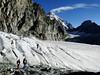 route Schönbielhutte SAC 2694m - Cabane de la Dent Blanche CAS 3507m
