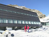 Klein Matterhorn 3817m cable car station and hut