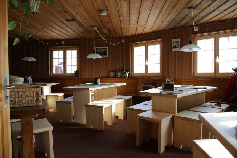 interior, new hut
