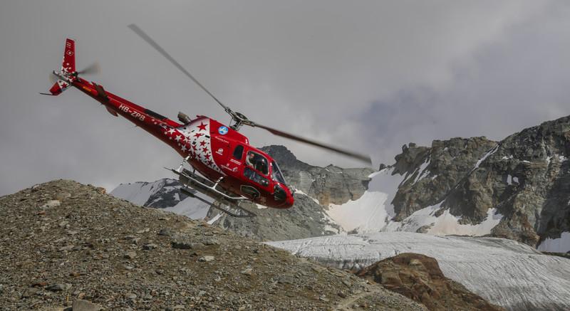 Air Zermatt heli