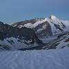 Dreieckhorn (3811m) and Aletschhorn (4193m)