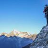 Domhütte 2940m - Dom 4479m
