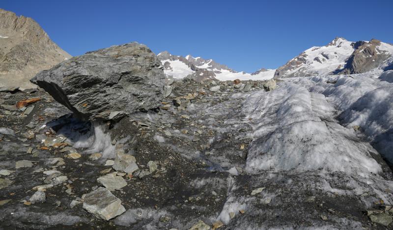 Glacier table, Grosse Aletschgletscher