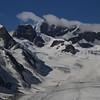 View to Louwihorn, Rottalhorn, Jungfrau, Jungfraujoch