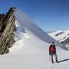 Summit of Grünegghorn(3860m) and Gross Grünhorn(4043m)