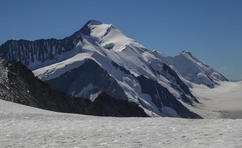 Dreieckhorn (3811m) and Aletschorn