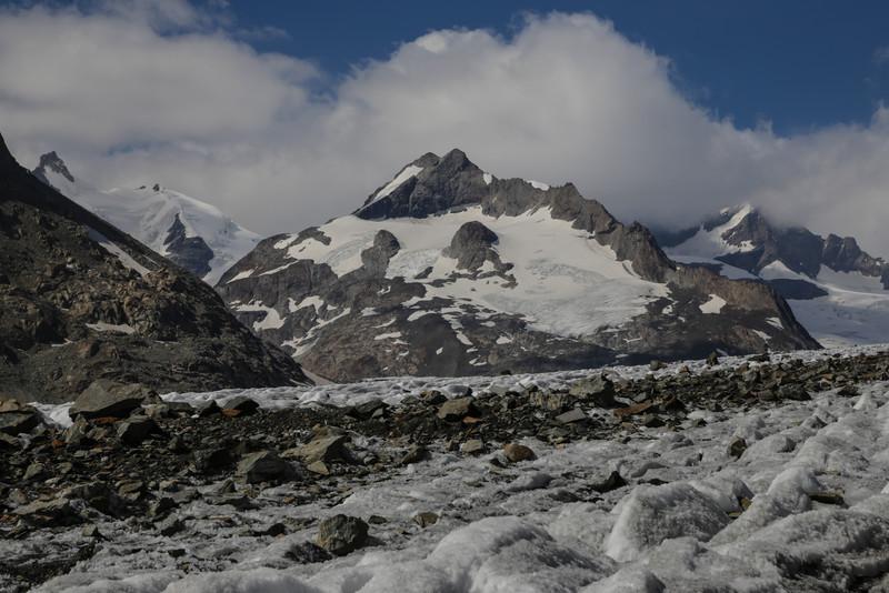 Jungfrau (4158m) and Kranzberg (3610m)