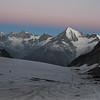 view at Walliser Alps