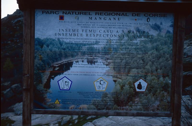 Parc Naturel Regional de Corse (GR20  Corsica, France 2003)