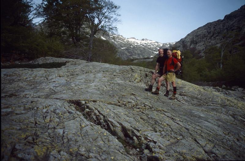 GR20 Nord Vizzavona - Calenzano 9 days trekking (GR20  Corsica, France 2003)