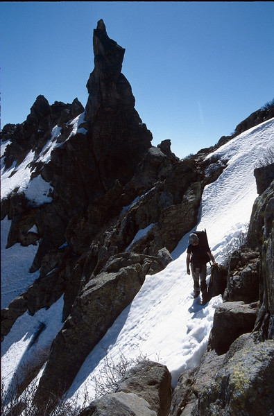 Punte Alle Porta 2315m. (GR20  Corsica, France 2003)