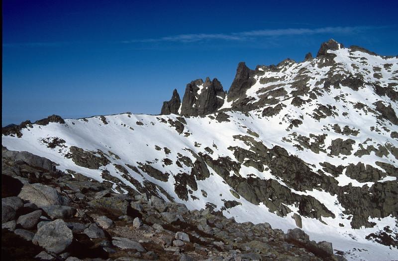 near Bocca Muzella 2206m. (GR20  Corsica, France 2003)