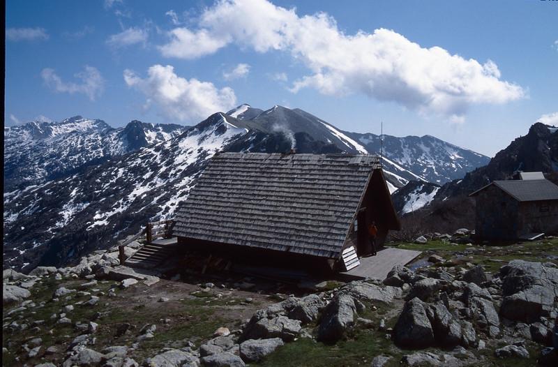 Refuge Petra Piano 1842m. (GR20  Corsica, France 2003)