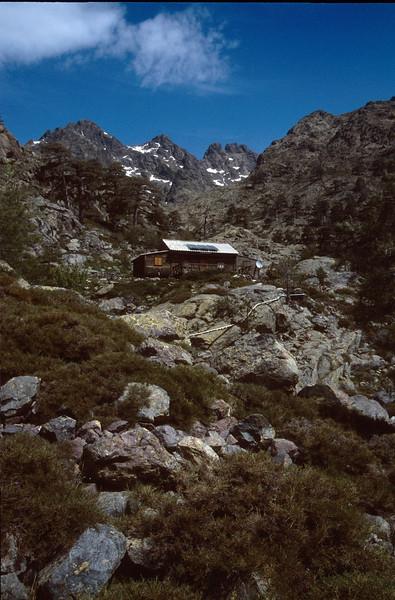 Paglia Orba, Rif. Ciuttula di i Mori (GR20  Corsica, France 2003)