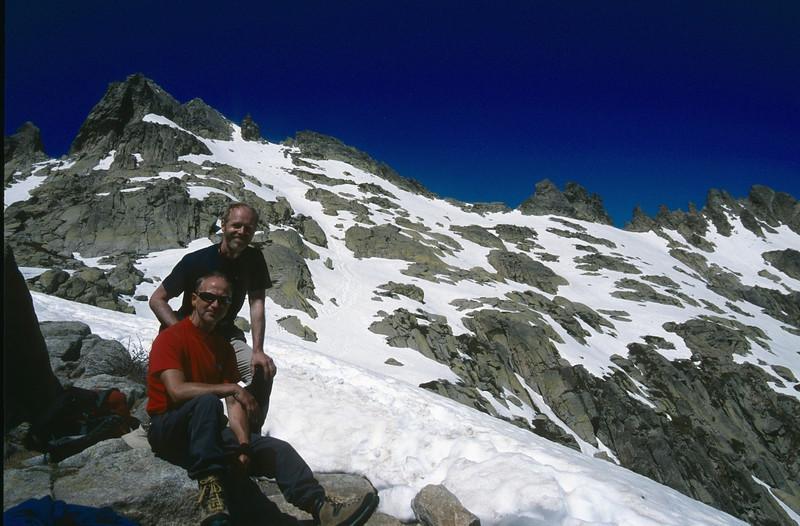 GR20  Corsica, France 2003 (Bocca Muzella 2206m.)