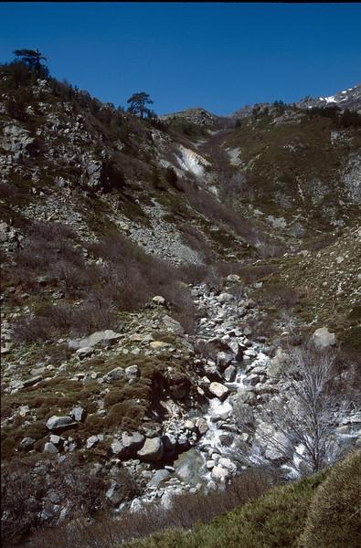landscape (GR20  Corsica, France 2003)