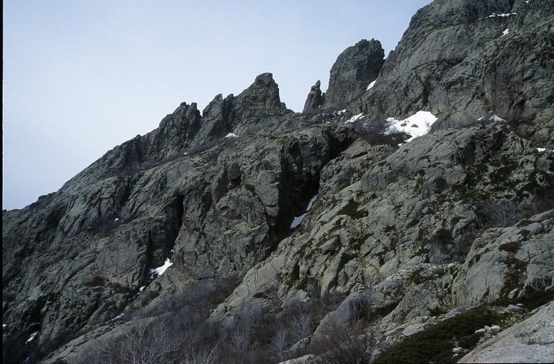 near Punte Muratello (GR20  Corsica, France 2003)