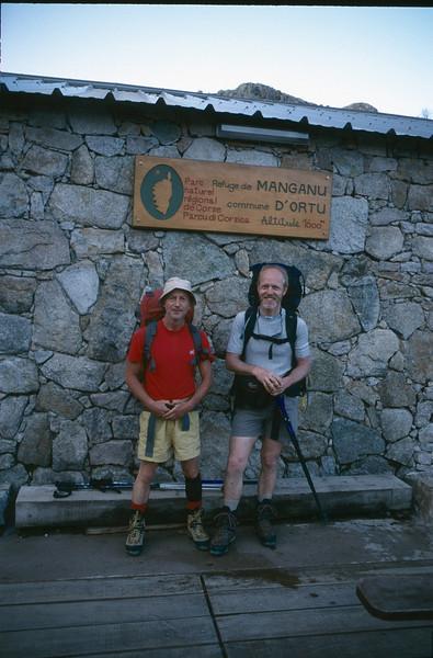 Rifuge Manganu 1600m. (GR20  Corsica, France 2003)