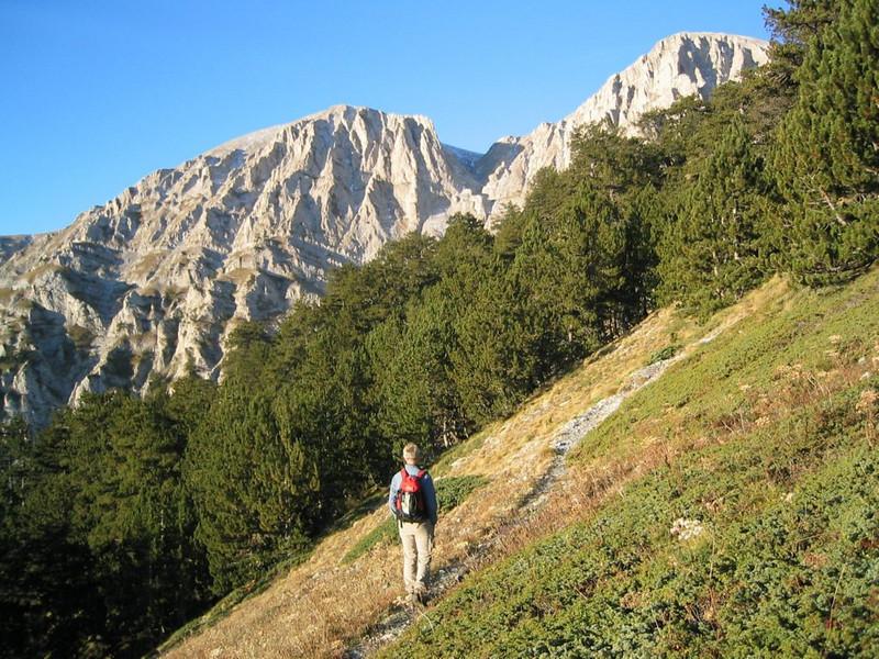 16 Oct. ascent Skolio 2866m. (Mnt Olympus,Greece 2005)