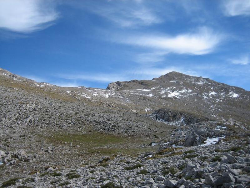 20 Oct. ascent Mount Parnassos (Mnt Olympus,Greece 2005)