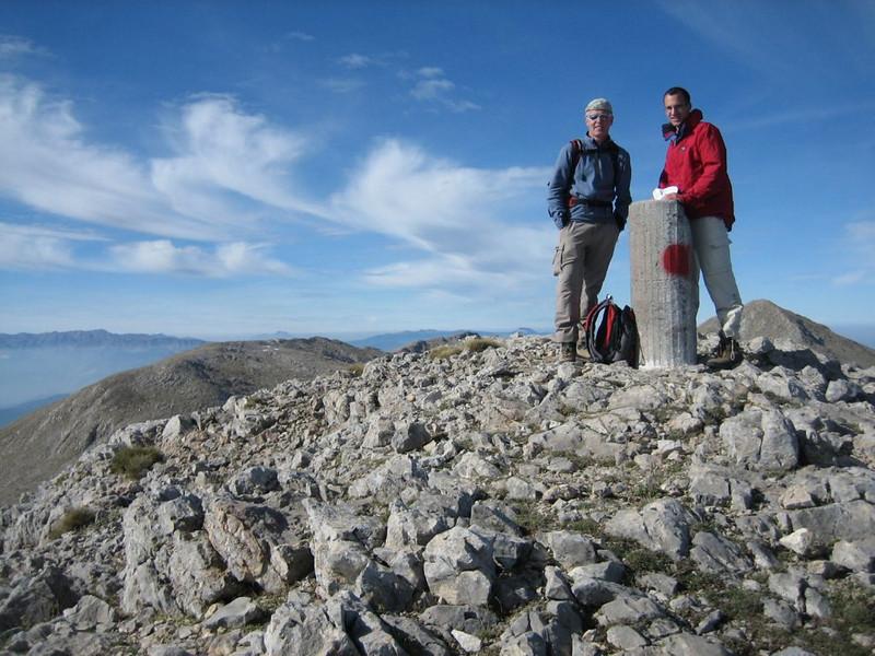 summit Mount Parnassos (Mnt Olympus,Greece 2005)