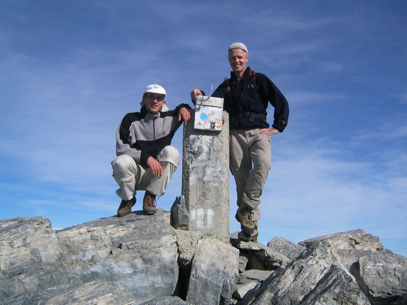 summit Myticas 2917m. (Mnt Olympus,Greece 2005)