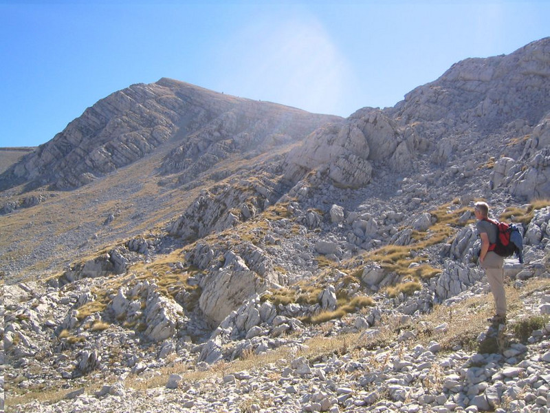 20 Oct. ascent Mount Parnassos (Mnt Olympus,Greece 2005)