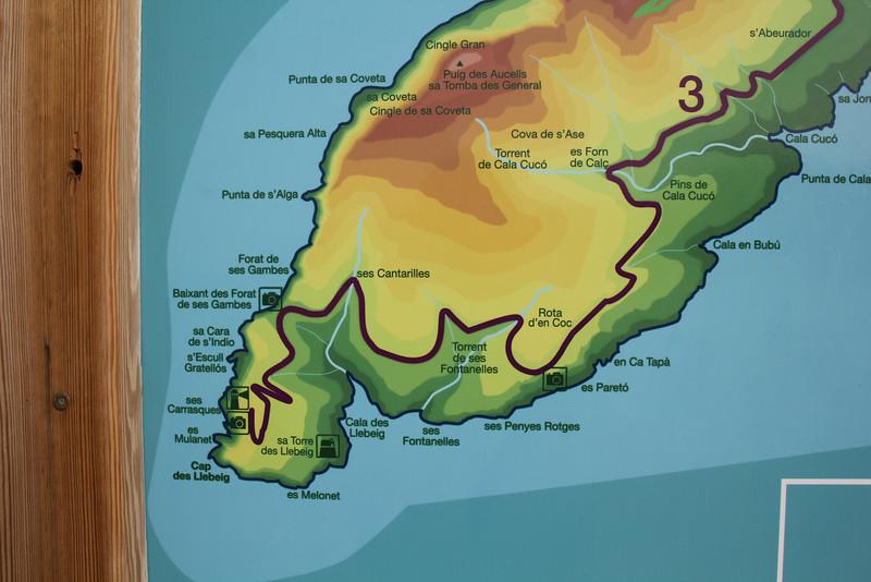Island, Parc Naturel de sa Dragonera, Liedó-des Liebeig