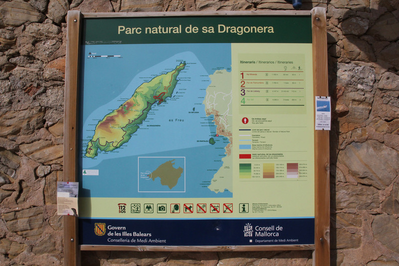 Map of Parc Naturel de sa Dragonera