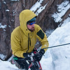 Ouray 2012-33 - Ross finishing up at the top of Whitt's World
