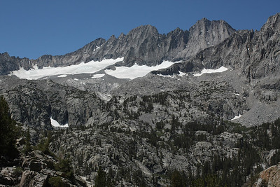 Another cropping of Middle Palisade and Norman Clyde Peak.