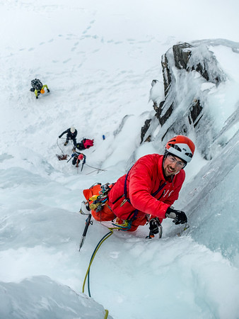 Wye Creek Ice Climbing 13-14 August 2016