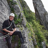 climbing with Paul in Yvoir (B)