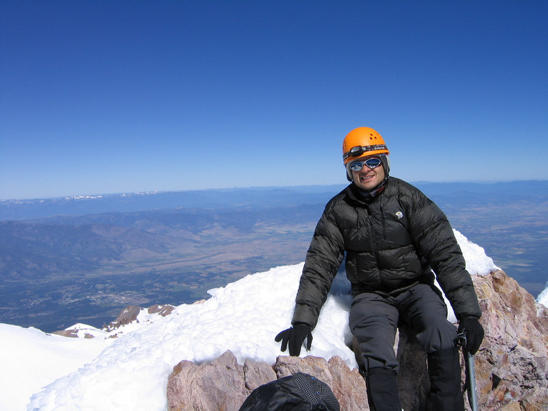 Top of Shasta