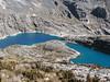 Lago Cullicocha 4628m (Peru 2009, Jancarurish 4250m. - Vientuna pass 4770m. - Osururi pass 4860m. - Lake Cullicocha 4628m. Cordillera Blanca)