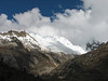Nevados Quitaraju 6036m. and Nevado Alpamayo 5947m. (Peru 2009, Llamacoral 3750m. - Taullipampa 4150m. Cordillera Blanca)