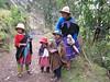 Farmer family (Peru 2009 Tuctupampa 4100m.- Alto de Pucaraju 4650m - Ingenio 4125m. Cordillera Blanca)