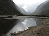 Lago Huecrucocha (Peru 2009,  Taullipampa 4250m. - Punto Union 4760m - Tuctupampa 4100m. Cordillera Blanca)