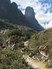 trekking-path (Peru 2009, Cashapampa 2950m. - Llamacoral 3750m. Cordillera Blanca)