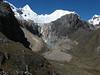 Alpamayo 5947m. and Nev. Quitaraju 6036m. (Peru 2009,  underneath Gara Gara pass 4550m. - Gara Gara pass 4830m. - Jancarurish 4250m. Cordillera Blanca)