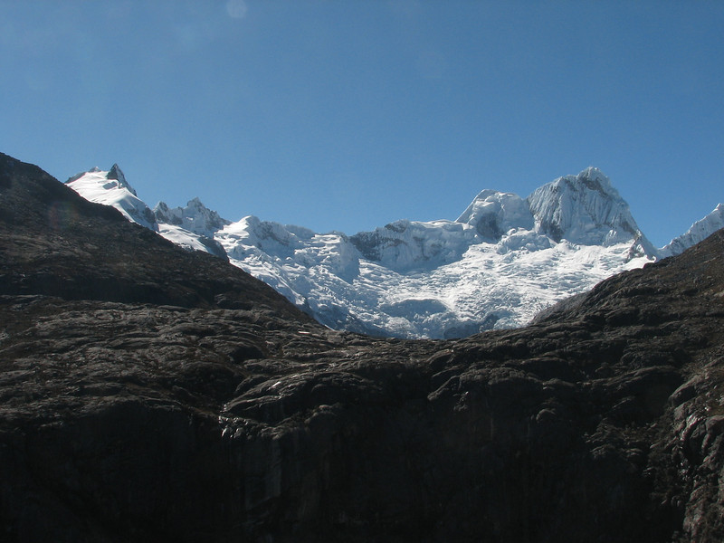 Nevado Santa Cruz (Peru 2009, Lake Cullicocha 4628m.  - Calamina 3950m. Cordillera Blanca)