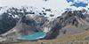 panorama Lake Cullicocha 4628m. (Peru 2009, Jancarurish 4250m. Cordillera Blanca)