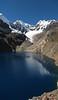 panorama Safuna lakes (Peru 2009, Safuna 4150m. - Lakes Safuna - Mesapata pass 4460m - underneath Gara Gara pass 4550m. Cordillera Blanca)