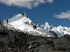 Nevados Sante Cruz Northe 5829m. (Peru 2009, Jancarurish 4250m. - Vientuna pass 4770m. - Osururi pass 4860m. - Lake Cullicocha 4628m. Cordillera Blanca)