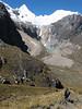 Alpamayo 5947m. and Nev. Quitaraju 6036m. (Peru 2009,  underneath Gara Gara pass 4550m. - Gara Gara pass 4830m. - Iancarurish 4250m. Cordillera Blanca)