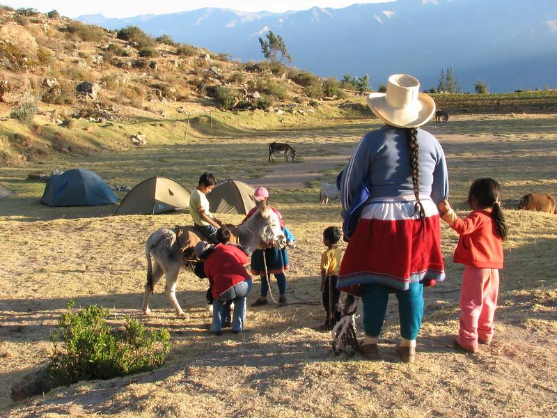 local interest (Peru 2009, Calamina 3950m. Cordillera Blanca)