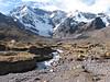 stream from the glacier of Nevado Jatunuma (Peru 2009, Upispampa- Arapapass 4770m - Auzangate pass 4870m - Auzangatecocha 4670m. Ausangate)